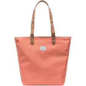 Herschel Mica Tote apricot brandy/saddle brown